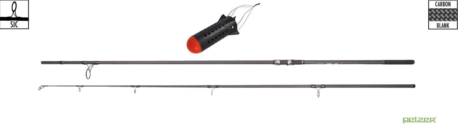Pelzer Bondage Spod Rod 12ft 8lb 50mm